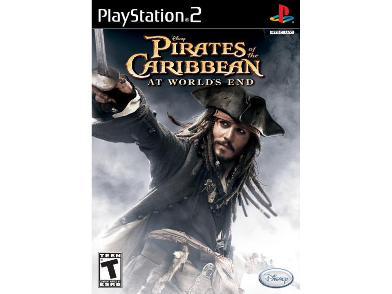 Disney Pirates of the Caribbean At World's End  Ps2